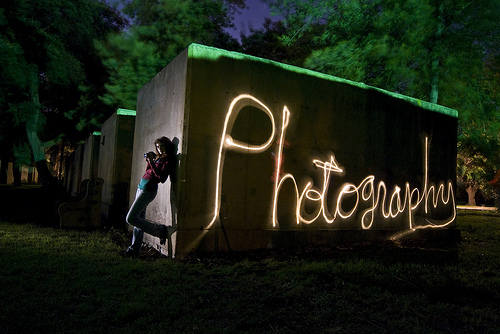 Painting with light photo