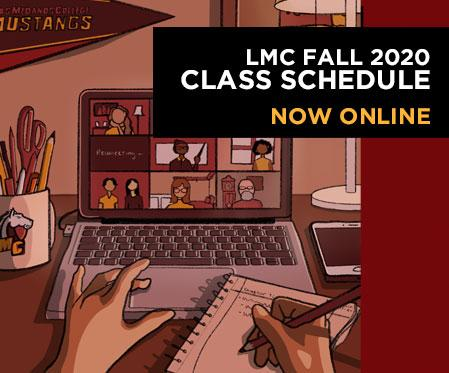 Search the LMC Fall Schedule now online