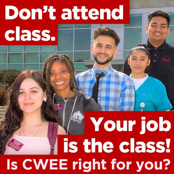 Don't attend class. Your job is the class. Is CWEE right for you?