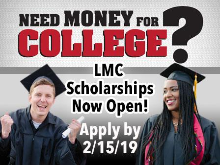 Need money for college? Application deadline 2/15/2019