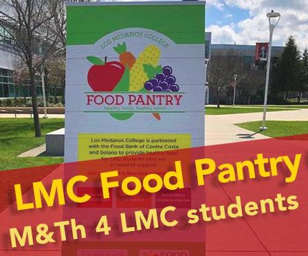 LMC Food pantry Monday and Thursday for LMC students