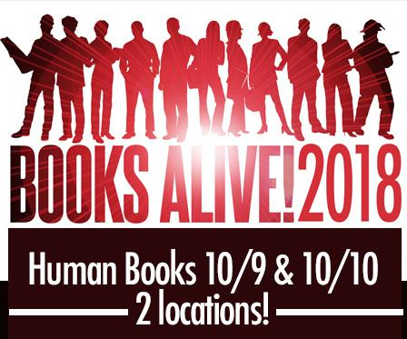 Books Alive - read a human book
