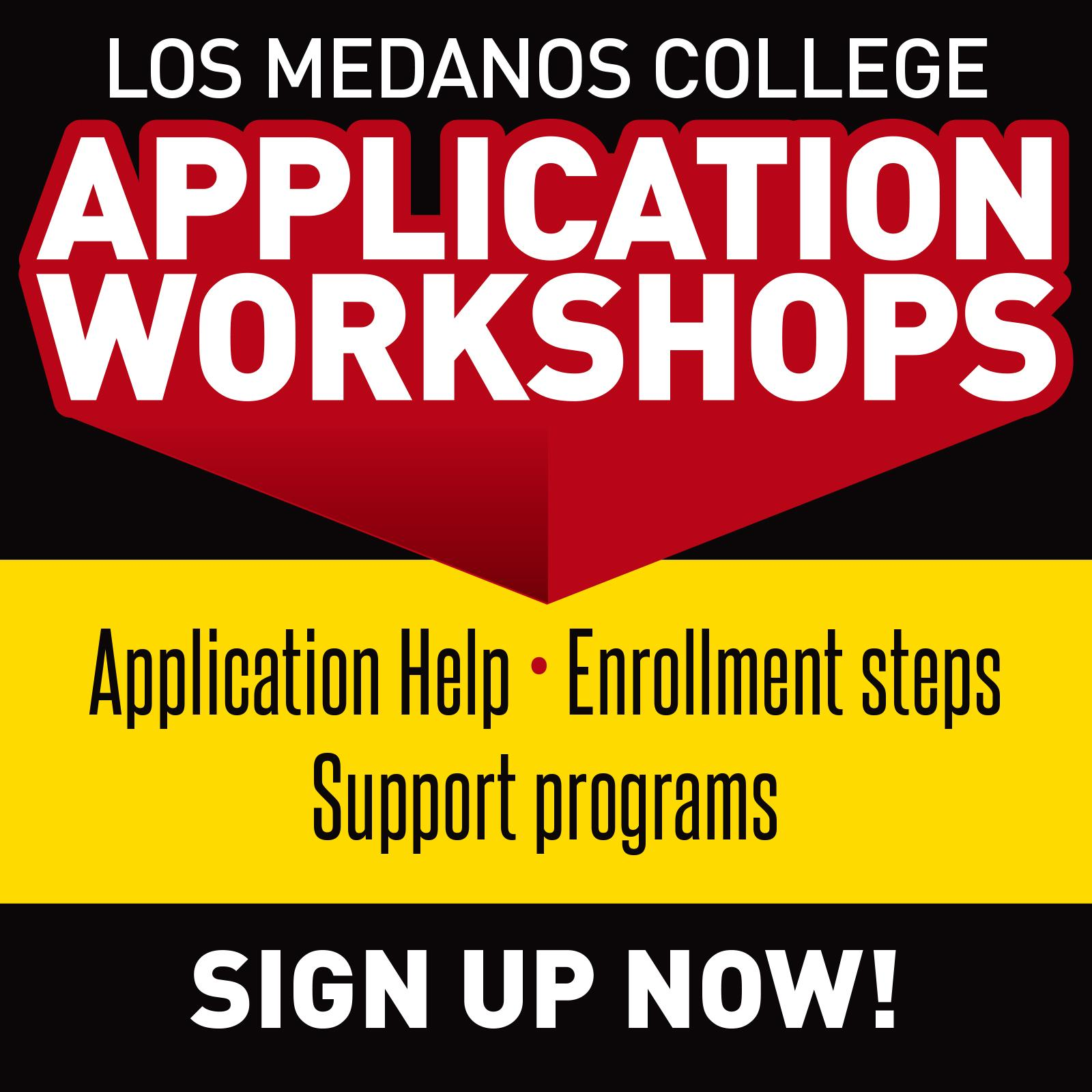 New to LMC? Sign up for an application workshop to walk you through the process
