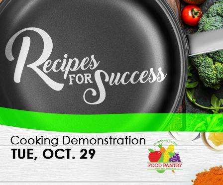 Cooking demonstrations Oct 29