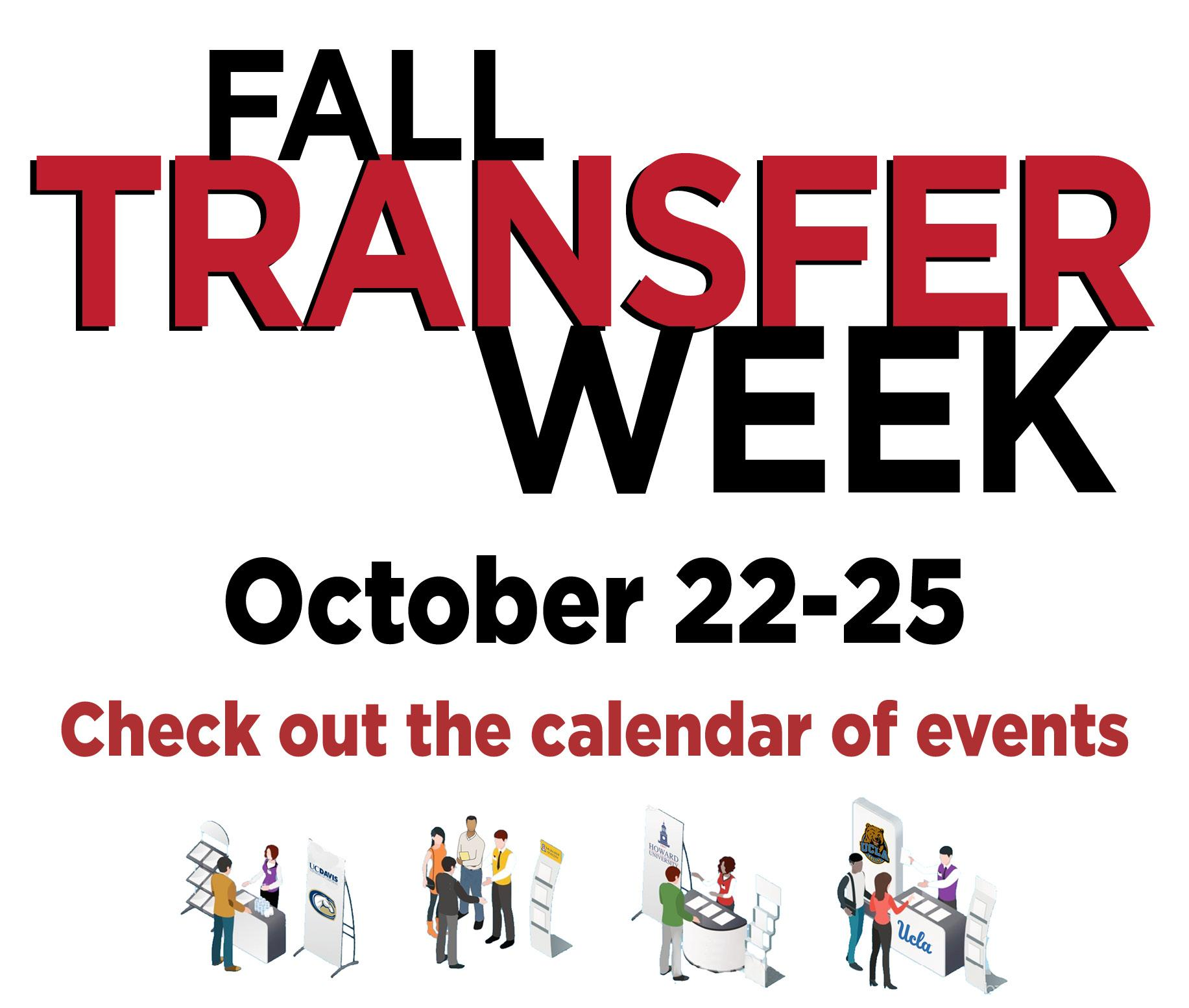 Transfer Week Events