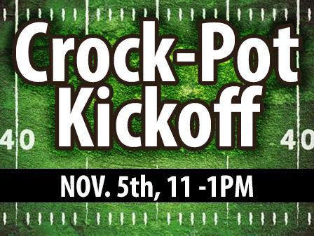 Crock-pot kickoff