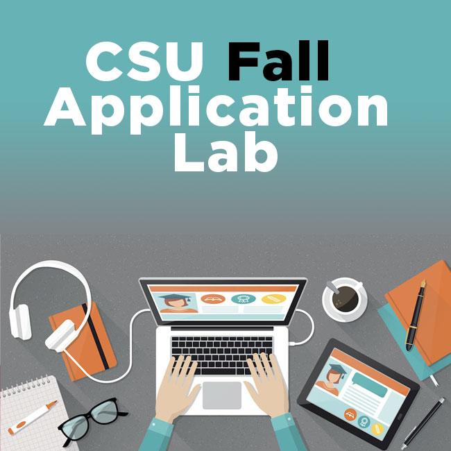 CSU application workshop - get help