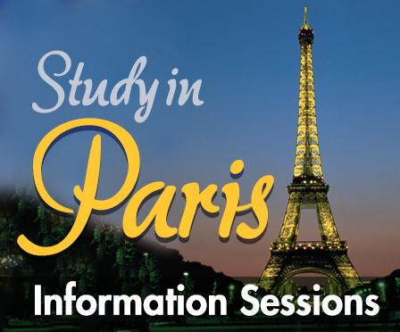 Study in Paris Information Sessions