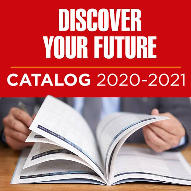 Our 20-21 catalog of classes is now online - discover your future
