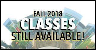 Fall Class 2018 Still available