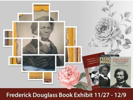 Frederick Douglas book exhibit