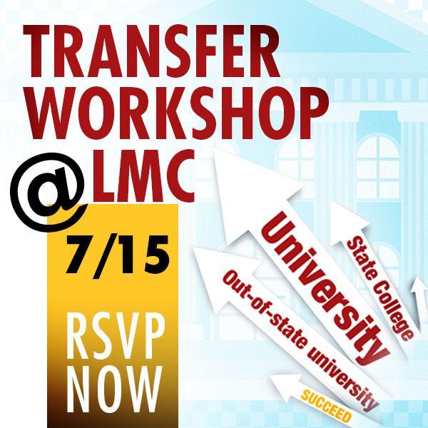 Transfer workshop 7-15
