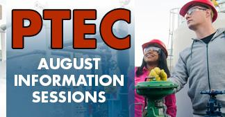 Sign up for PTEC information sessions