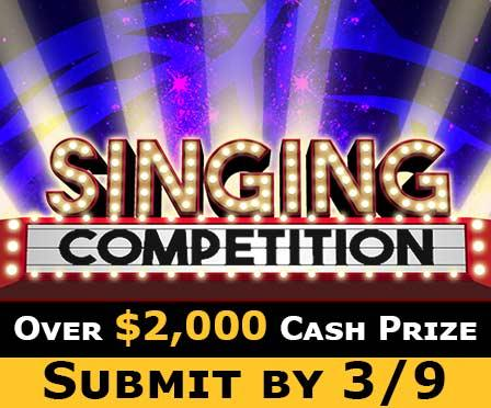 Singing Competition Submit 3/9