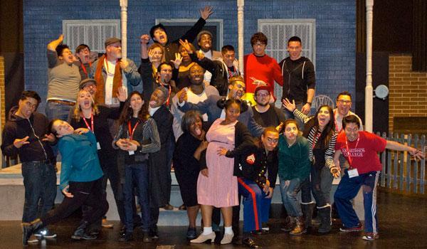 Drama Club Students