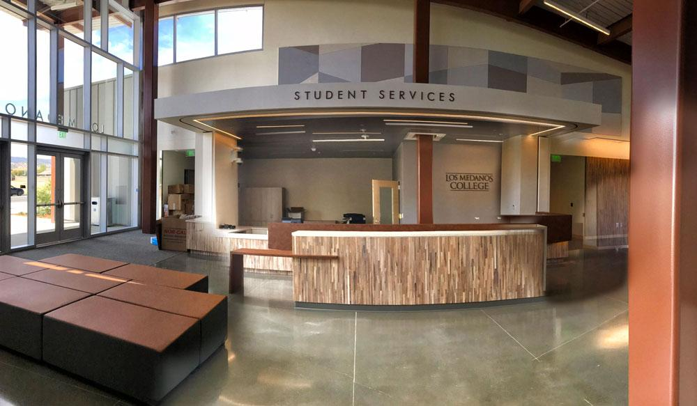Student Services Entrance