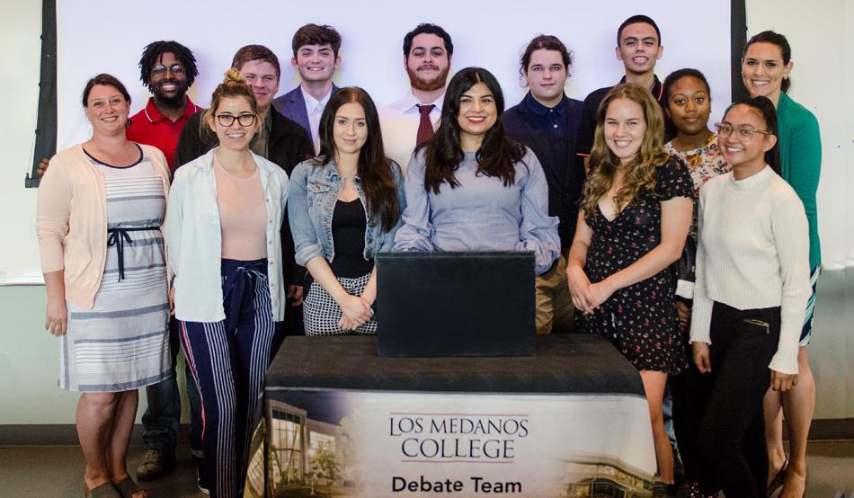 Debate team 2019