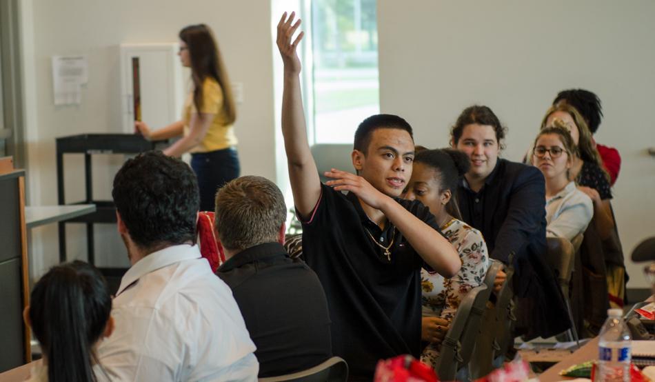 Winning Speech and Debate Students