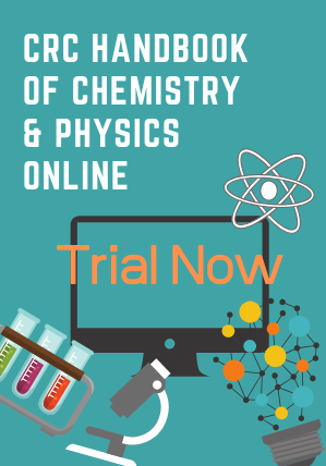 CRC Handbook of Chemistry & Physics Online Trial Now
