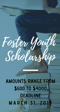 Foster Youth Scholarship