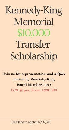 Kennedy-King Transfer Scholarship
