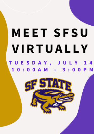 Book an appointment with SFSU