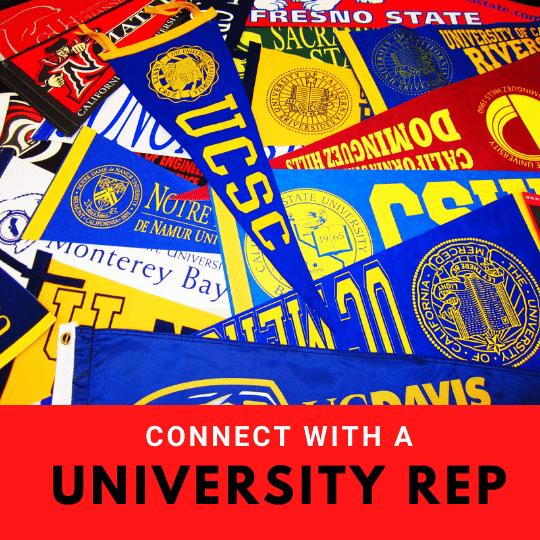 Meet with a university representative