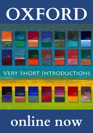 Oxford: Very Short Introductions Now Online