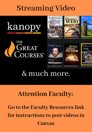 Streaming Video: Kanopy