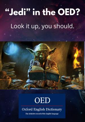 Oxford English Dictionary Yoda