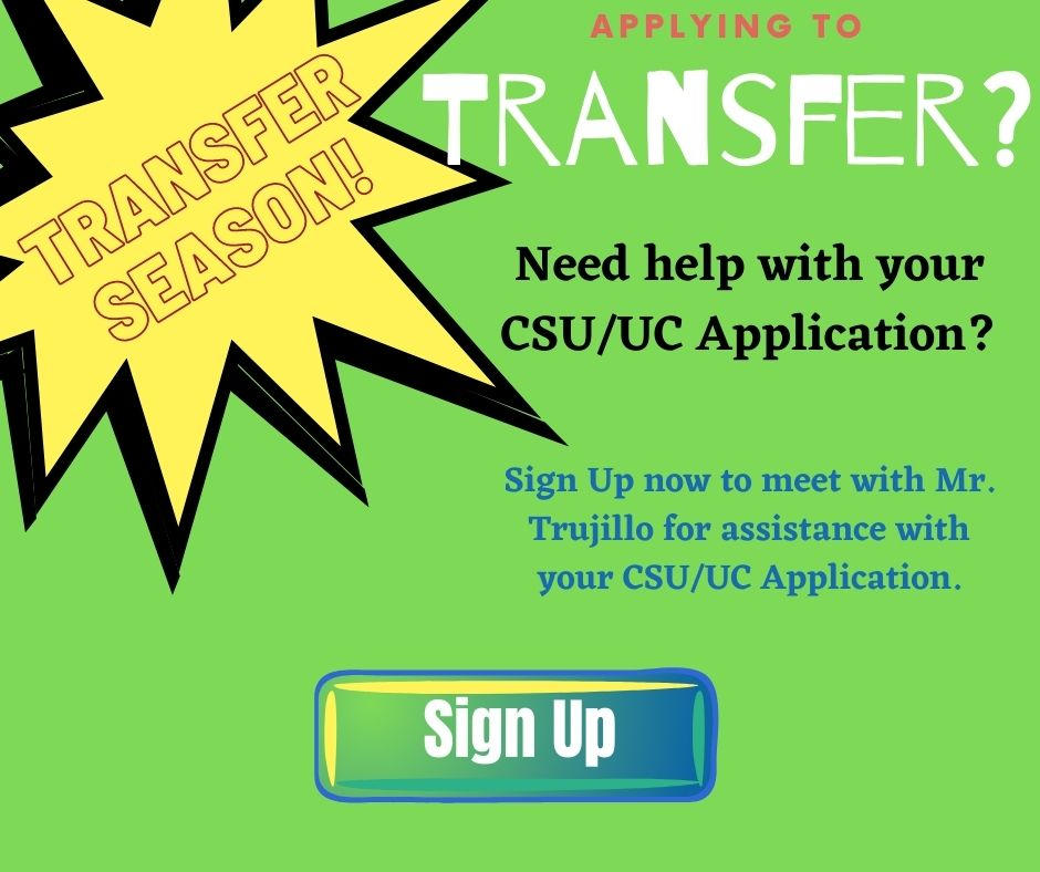 EOPS Transfer Application Assistance