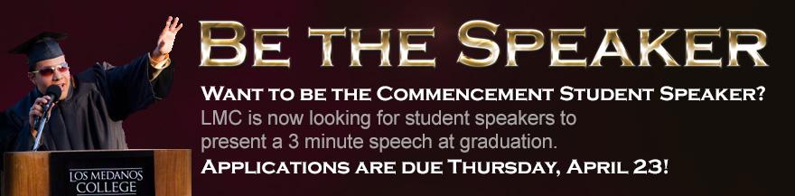 Be the Speaker