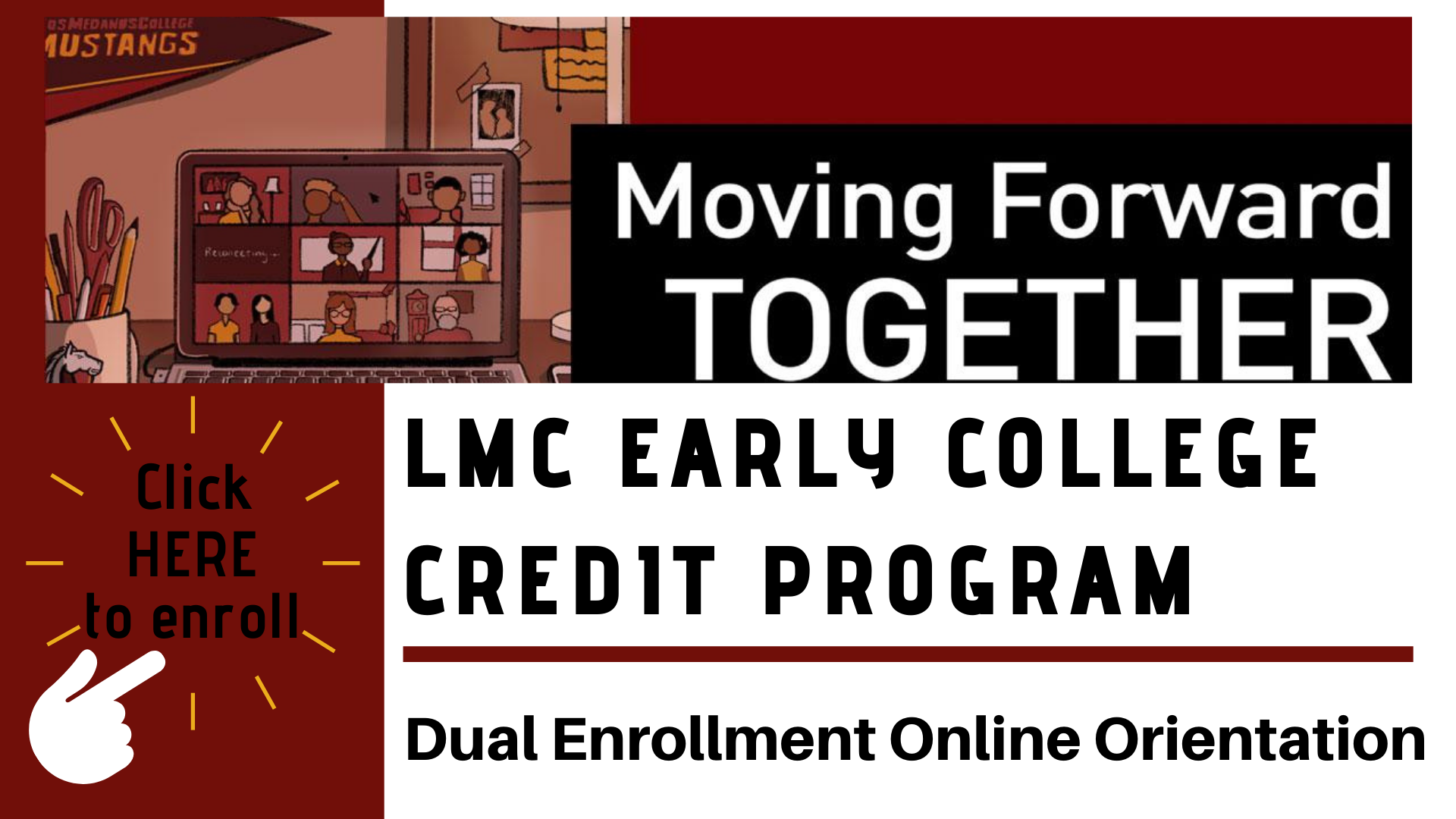 click here to enroll in the LMC DE Online Orientation