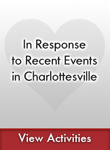 IN RESPONSE TO RECENT EVENTS IN CHARLOTTESVILLE