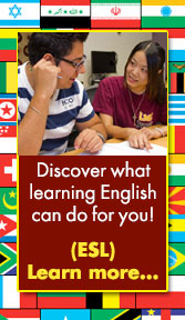 learn more about the ESL program