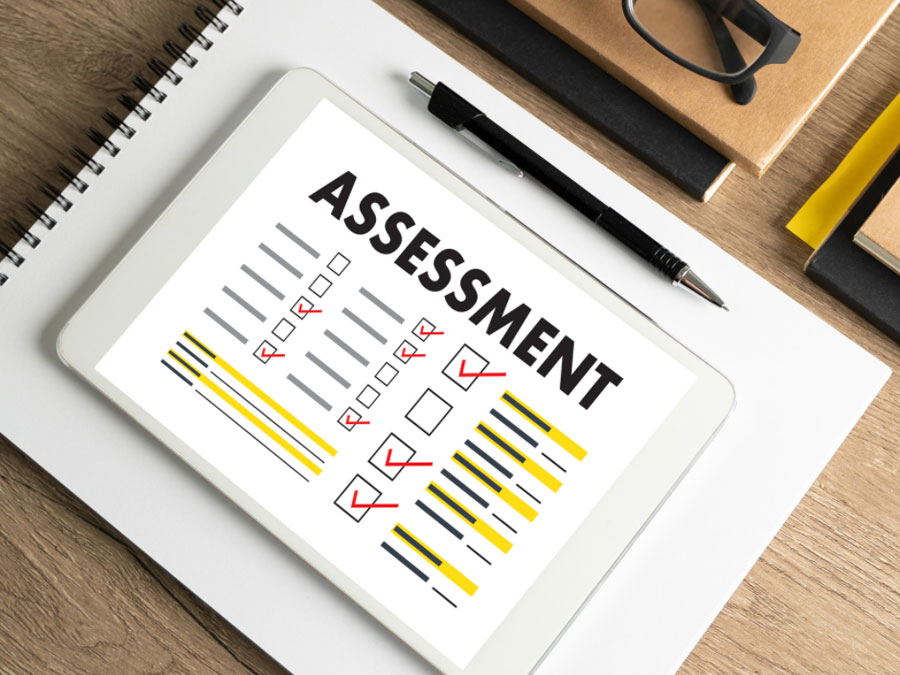 Take an online assessment
