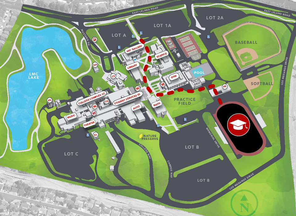 Lmc Pittsburg Campus Map.Los Medanos College Graduation