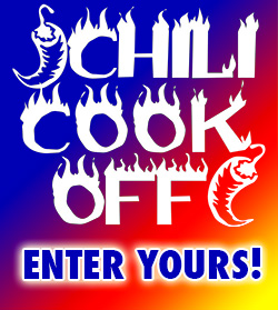 Enter the chili cookoff