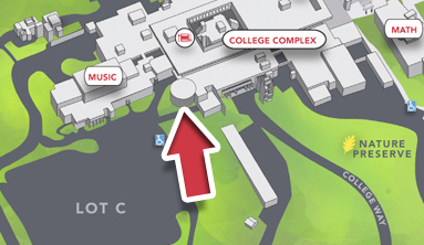 Map to LMC Little Theater