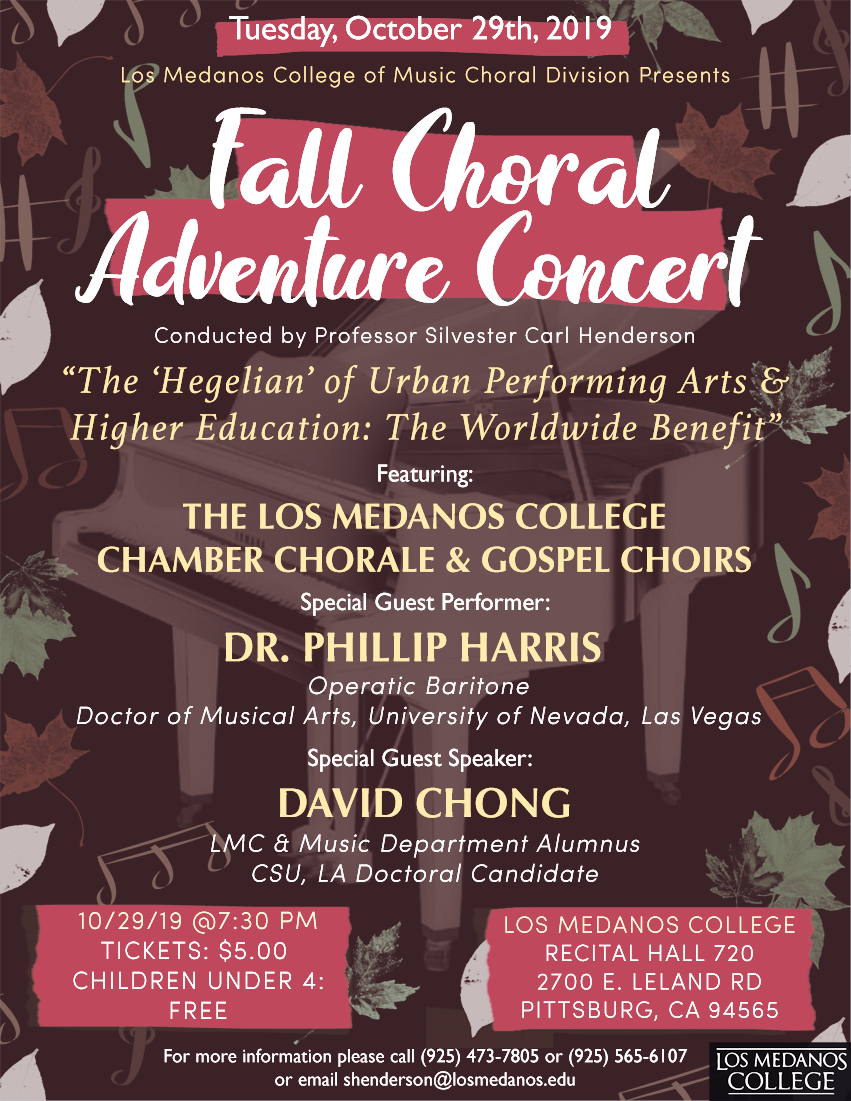 Fall 2019 Choral Adventure Concert