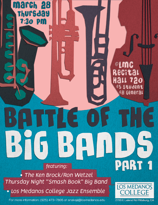 Spring 2019 Battle of the Big Bands pt 1