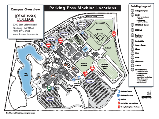 Transportation and Parking Information on