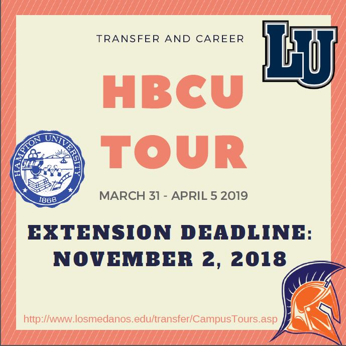 HBCU Tour Deadline Extension!