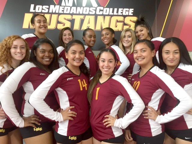 LMC Mustang Women's Basketball team 2016